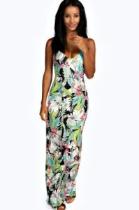 Definitely one for the beach.  Tropical Maxi from Boohoo for €24